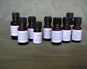 Essential Oils - Geranium, Juniper Berry, Spikenard