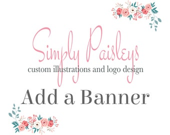 ADD a Banner to any Logo Design