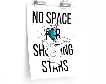 No space for shooting stars