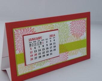 Floral 2018 Desk Calendar