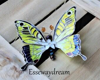 Macaone butterfly hairpinn