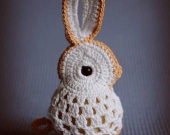 Easter bunny crochet/Eggs decorations/Egg cover/Easter gift/Easter decor/Easter eggs/Crochet bunny/Egg holders/Egg cup/ Egg Cosy/Ornaments