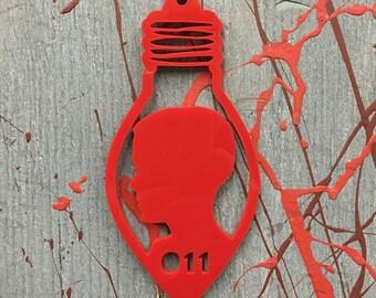 011 Stranger Things inspired Ornament