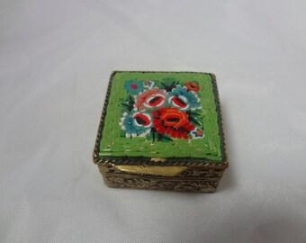 a943 Vintage Micro Mosaic Box