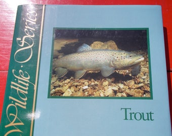 The Wildlife Series TROUT by Judith Stolz and Judith Schnell BEAUTIFUL ILLUSTRATIONS packed with Information