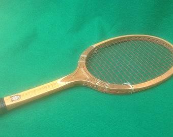 TAD DAVIS IMPERIAL Deluxe Wooden Tennis Racquet