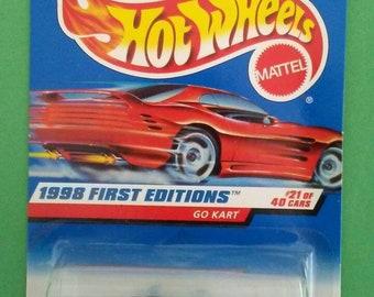 Hot Wheels Go Cart new on card
