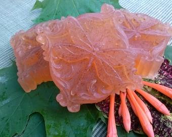 Rose Geranium Bergamot Soap -Vegan -