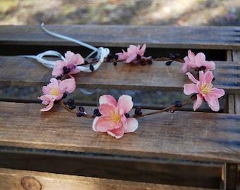 Light Pink Flower Crown