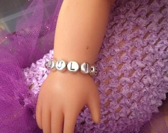 "Personalized 18"" Doll Bracelet"
