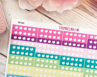 5 A Day Planner Stickers for Erin Condren and More (TP191)