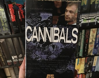 A&E Cannibals The Unexplained special VHS tape