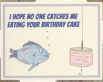 Funny Birthday Card Cake Card Birthday Cake Card Cake