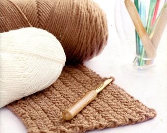 Crochet Made Easy from Coats & Clark J27 | Craft Book