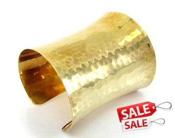 Gold Cuff Bracelet Gold Bracelet Cuff Hammered Brass Cuff Bracelet Brass Bracelet Cuff Wide Cuff Bracelet Gold Hammered Bracelet Cuff 022
