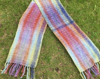 Handwoven scarf, scarf, lightweight scarf, handmade scarf, summer scarf, woven scarf,