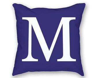 Custom Letter Pillow with insert