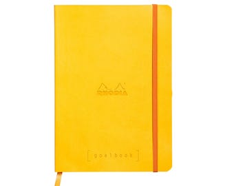 Rhodia Goalbook - Yellow A5 - Dot Grid