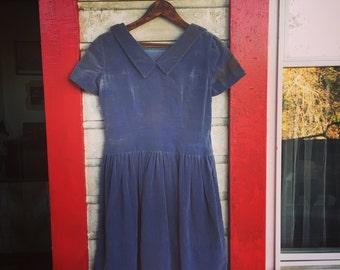Antique Velvet Dress