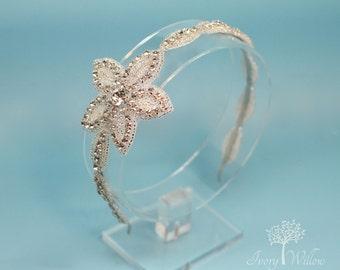 Wedding Hair Piece - Wedding Headband - Bridal Headpiece - Bridesmaid - Adult Headband - Bridal Headband - Wedding Headpiece
