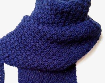 KNITTING PATTERN Scarf Gift for Her Handmade Boho Knit 70th Birthday Gift for Women Mom Bestfriend Gift Digital Download Knitting GARRYVOE