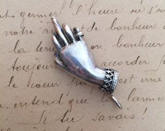 SILVER The Bird pendant - large