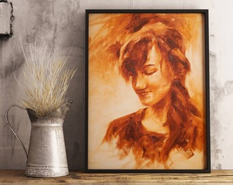 Perfect Poise - Canvas Print