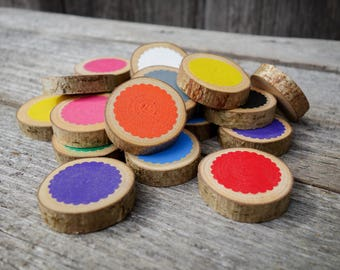 Montessori color box, Montessori sensorial, Color matching game, Memory game, Toddler gift, Montessori toy, Wooden toy