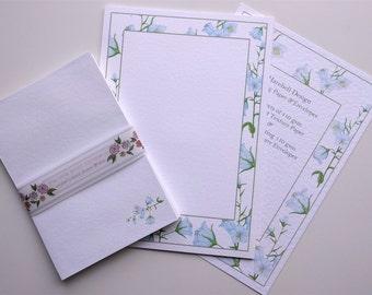 Writing Paper and Envelopes Set, Harebells Design