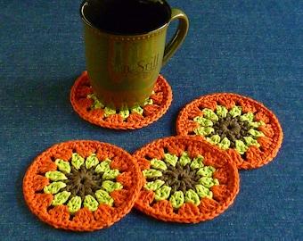 Autumn Slice Coaster