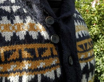 Soft Thick Sweater or Jumper 100% Wool