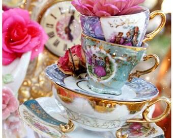 Tea-Time - 5 Postkarten-Set