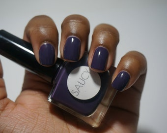 MY JAM | dark purple nail polish | vegan nail lacquer | non toxic
