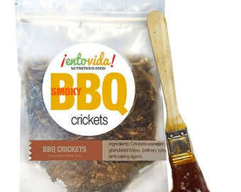 Edible Insects   BBQ Crickets