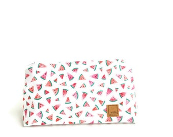 Watermelon Make up bag Gift for Mom Makeup bag Make up bag Gifts for her Gifts for mom Bridesmaid gift Bridesmaids Gift Coworker gifts
