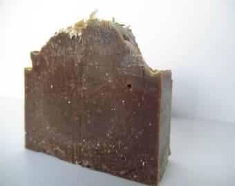 Snickerdoodle soap. Homemade soap. Vegan soap. Cold Process soap. Organic soap. Handmade soap. Coconut Oil. Soap bar.