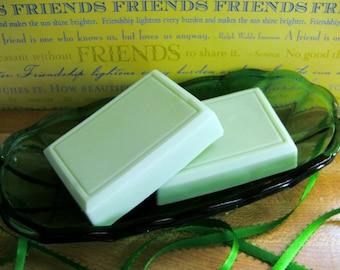 LUCK of the IRISH---Lucky Shamrock Shake Soap--Creamy Lather--VEGAN Friendly-Super Yummy