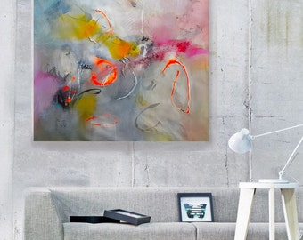 Modern Art Abstract Painting, Original Painting Canvas Art, Abstract Painting Canvas Art, Living Room Art, Large Abstract Painting canvas