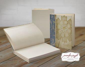 Serenity Flower 5x7 Hardback Bound Journal -Inspirational, Word Art