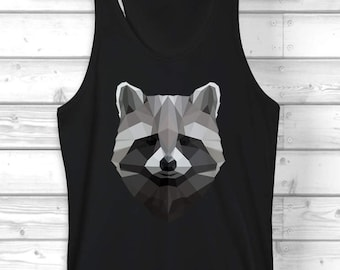 Raccoon Tank / Festival Clothing / Reow
