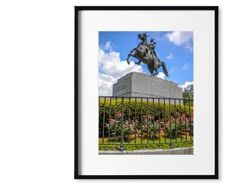 Original Fine Art Print: General Jackson - New Orleans, Louisiana