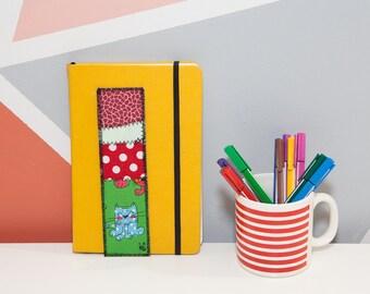 Bookmark, fabric bookmark, unique piece