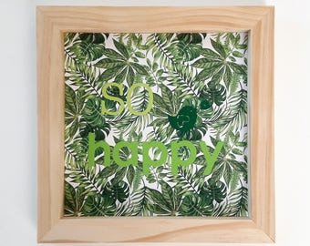 """So happy"" frame"