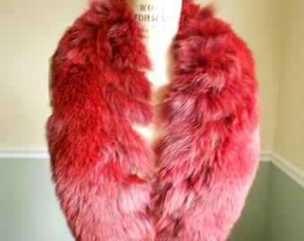 Fox Fur Collar / Red Fox Collar