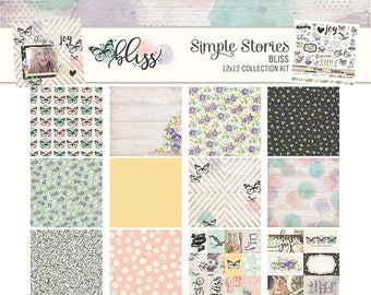 Simple Stories BLISS Collection Kit
