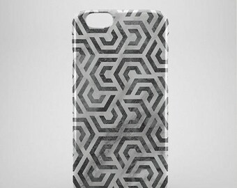 Geometric grey iPhone 8 Case, Marble iphone 8 plus case, iPhone 8 covers, abstract phone cases, hipster iPhone 8 case, iPhone x case