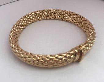Unique 14K Yellow Gold Bracelet