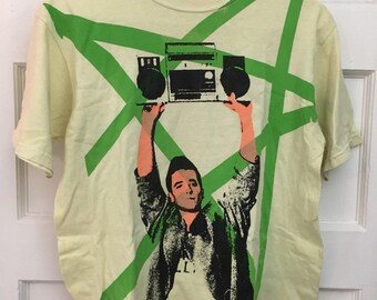 John Cusack Say Anything stereo pop art t-shirt Size small