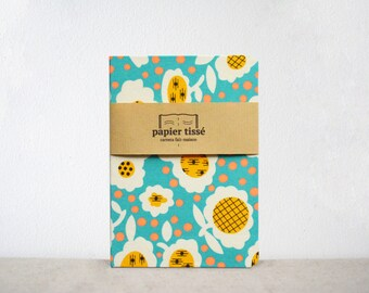 Book graphic flower pattern