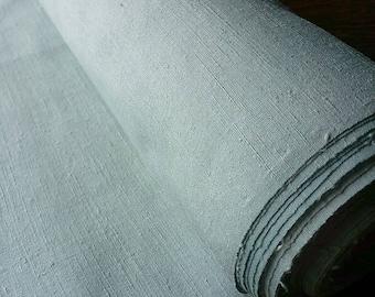 Kimono Tsumugi textile dyed by indigo fresh leaves 10m*37cm 002